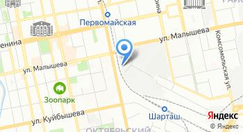В6 на карте