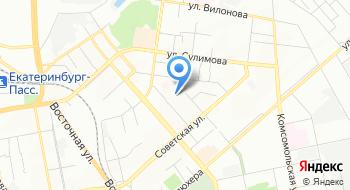 Межрайонная ИФНС России по крупнейшим налогоплательщикам по Свердловской области на карте