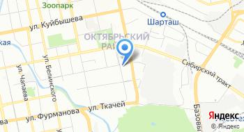 Швабе-Екатеринбург на карте