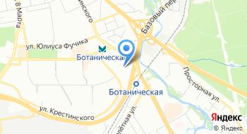 Уральский завод гражданской авиации на карте