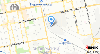 Урал-уголь. РФ на карте