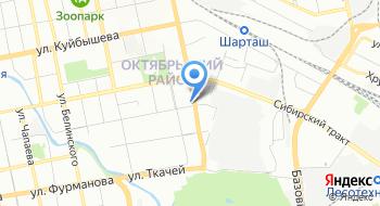 Отель АТЛАЗА Сити Резиденс на карте
