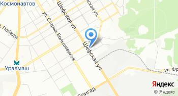 Мебельная фабрика Эстель Представительство в г. Екатеринбурге на карте