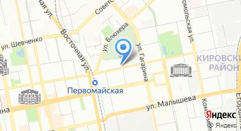 Колледж Екатеринбургского транспортного строительства на карте