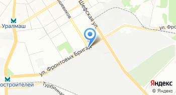 Уральский Дизель-Моторный Завод на карте