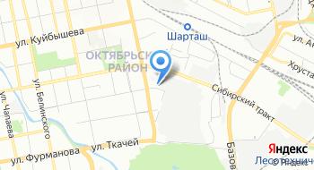 Автокомплекс Гелион на карте