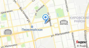 Управляющая компания Уралэнергострой на карте