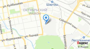 Уомз на карте