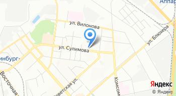 Нитка-Иголка на карте