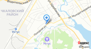 Автокомплекс на Походной на карте