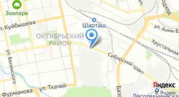 Свердловская Автошкола на карте