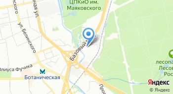 Радиант на карте