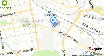 Кондитерская фабрика Конфи на карте