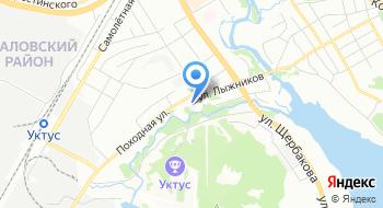 Ипс Свердловская на карте