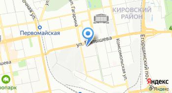 Линэрго на карте