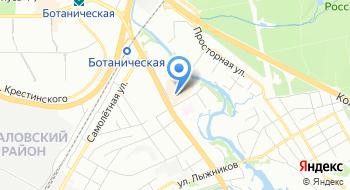 Екатеринбургский муниципальный банк на карте