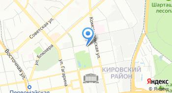 Теннис Урал на карте