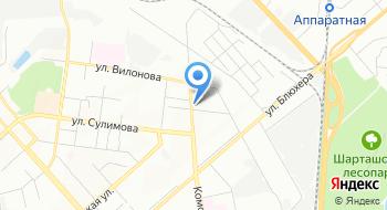 Уральские железные дороги на карте