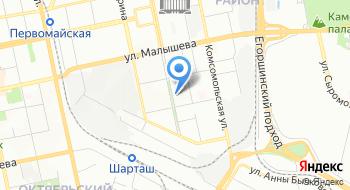 Интекс на карте