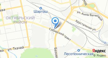 Универсальная торговая база Филиал Свердловского облпотребсоюза на карте