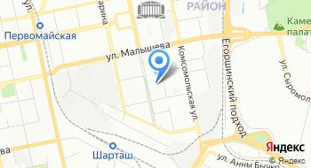 Экспортная компания на карте