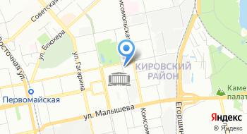 УПФР в Кировском районе г. Екатеринбурга на карте