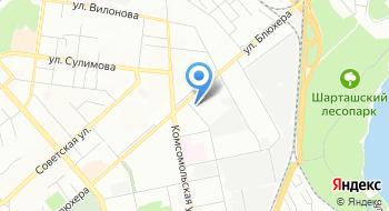 Уралвидеоспектр на карте