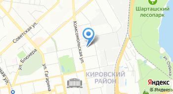 Академическая клиника на карте