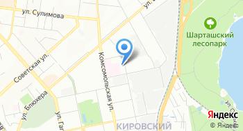 МКУ Ведомственный архив Управления здравоохранения Администрации г. Екатеринбурга на карте