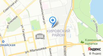 Детективное агентство Спрут-96 на карте