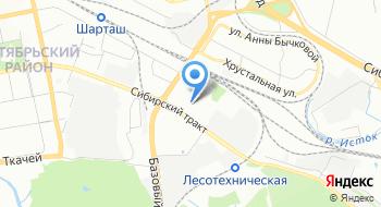 Студенческий центр карьеры УГЛТУ на карте