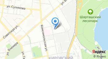 Маук центр культуры Урал на карте