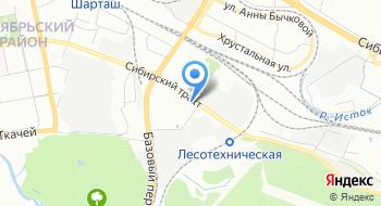 Тойота Центр Екатеринбург Восток на карте