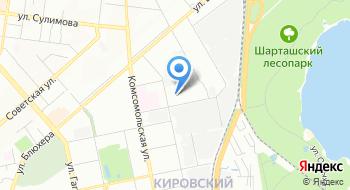 Муниципальное автономное учреждение Спортивный комбинат Урал на карте