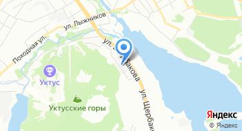 Стропува Урал на карте