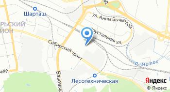 УГЛТУ Учебный научно-производственный центр на карте