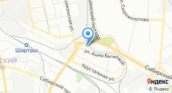 Компания Стартеры и генераторы на карте