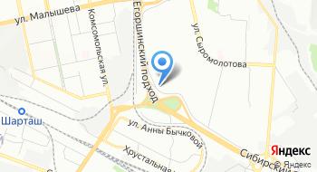 Ангара-Урал на карте