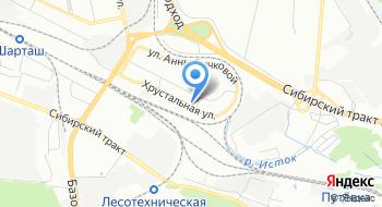 Наркологический центр лечения и реабилитации наркомании Здоровый Урал Офис на карте