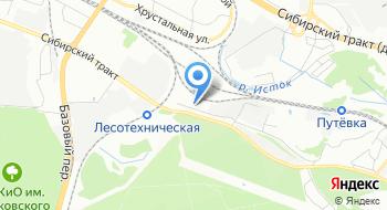Кузницы Урала на карте