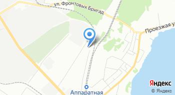 Уралавтогаз на карте