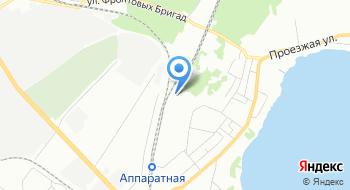 Приосколье на карте
