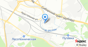 Астром Екатеринбург АСЕ на карте