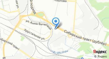 Регион96 на карте