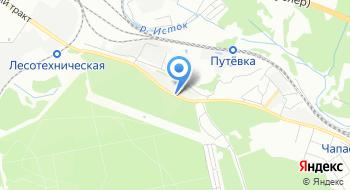 Сибирский гранитный карьер на карте