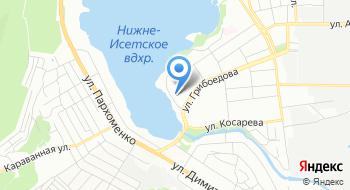 Промышленная компания Урал на карте