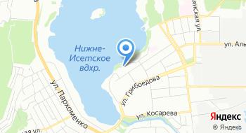 Автокомплекс Рубикон, г. Среднеуральск на карте