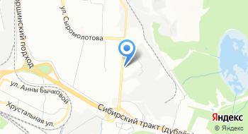 Автомойка Кох Урал на карте