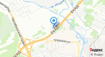 Глобал Трак Сервис Екатеринбург на карте