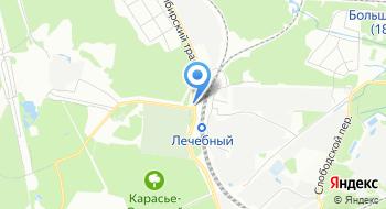 Сибирское кладбище на карте